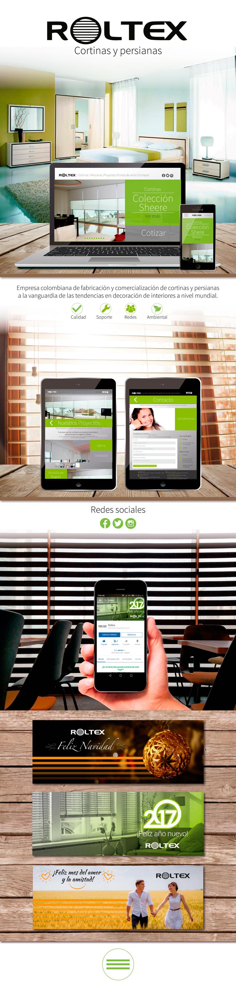 Roltex - Diseño Web - Social Media - Marketing Web