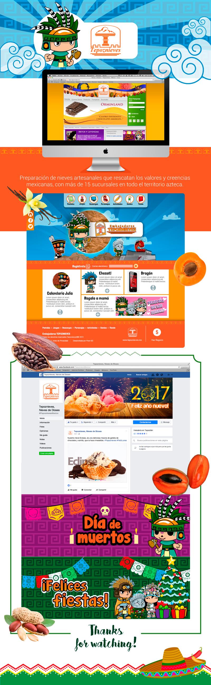 Diseño Web - Social Media