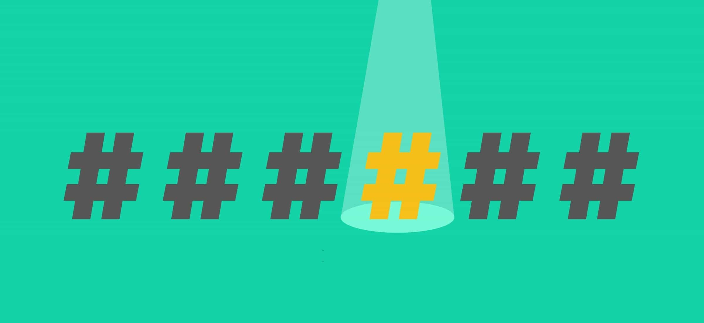 Hashtag perfecto pixel gd agencia